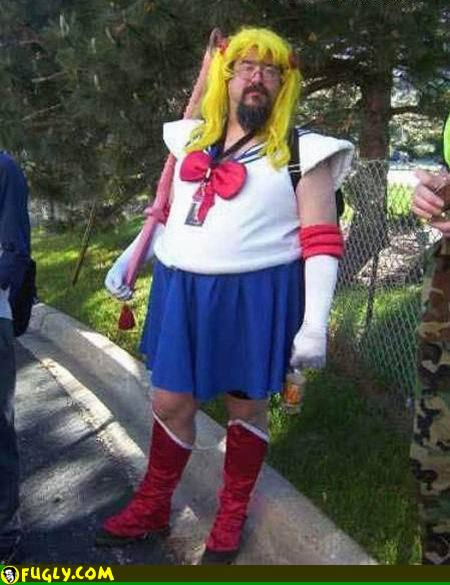 fat sailor moon