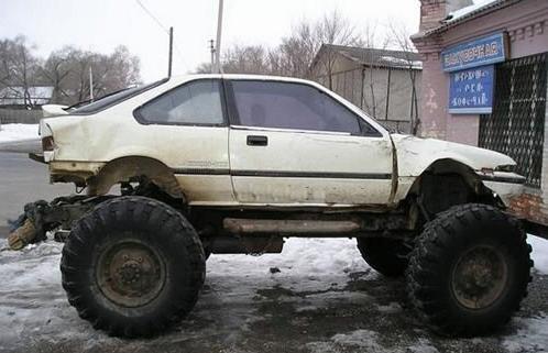 My Honda Civic Monster Car